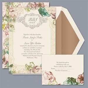 David39s bridal wedding invitations wedding invitations for Rustic wedding invitations david s bridal
