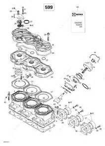 Ski Doo 1998 Formula  700  Cylinder  Exhaust