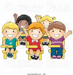 Child clipart school student - Pencil and in color child ...