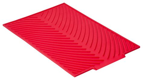 kitchen sink drying mats silicone glass drying mat contemporary drying racks