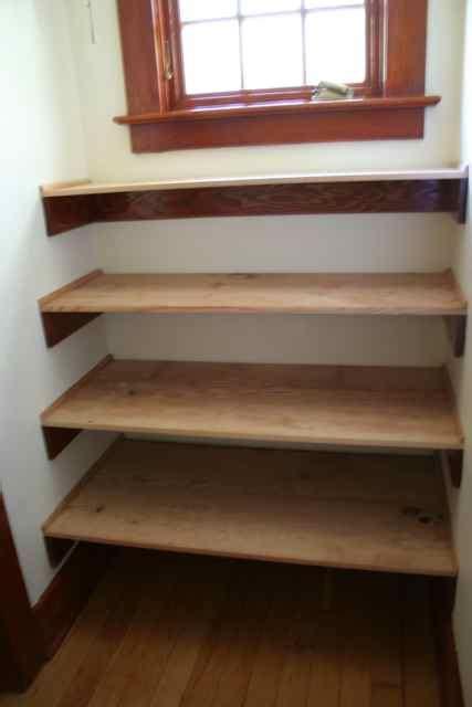 pdf diy build wood shelves in closet build for
