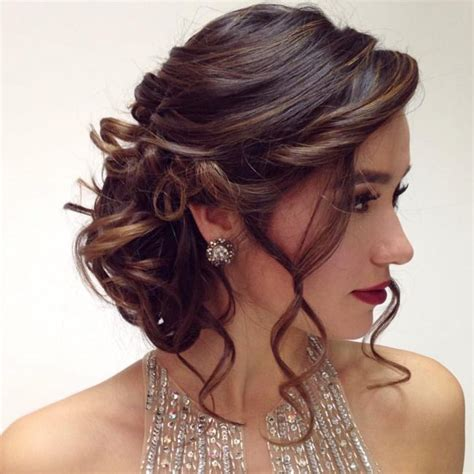 chic quinceanera hairstyles  styles