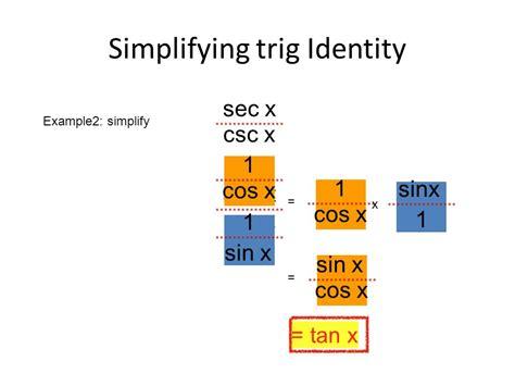 Basic Trigonometric Identities And Equations