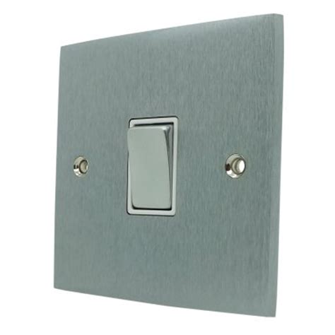 low profile light switch low profile satin chrome socket switches