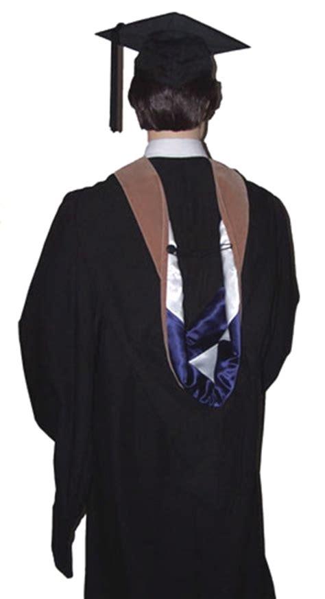 masters degree graduation hood  academic cap