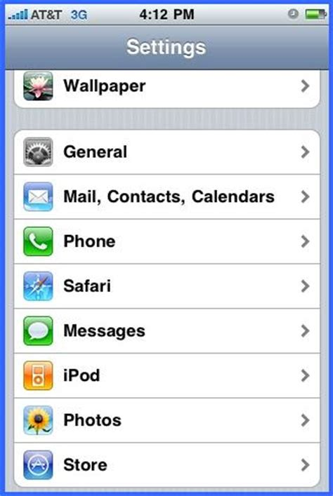 settings for iphone setup email account on iphone or webmail business