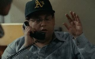 excited jonah hill gif find share  giphy