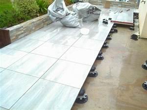 Dalle Sur Plots : terrasses terrassement morbihan 56 ~ Farleysfitness.com Idées de Décoration