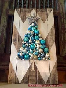hometalk how to make a chevron pallet ornament