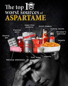 You Can Lose Weight Now: Aspartame Dangers