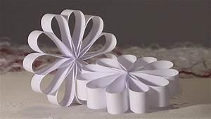 Deco Noel En Papier : noel deco christmas decoration rosace boucle papier diy youtube ~ Melissatoandfro.com Idées de Décoration
