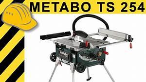 Kreissäge Mit Tisch : tischkreiss gen test metabo ts 254 k kreiss ge mit ~ A.2002-acura-tl-radio.info Haus und Dekorationen