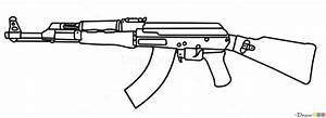Ak47 My Drawing by StygianVoidDragon on DeviantArt