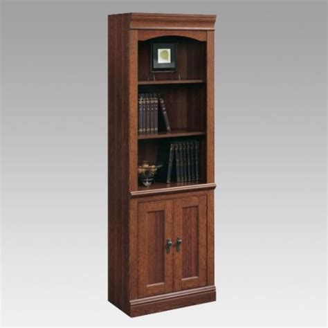 sauder bookcase with sauder camden county library bookcase with doors