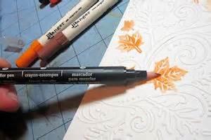 colored dry embossing tutorial splitcoaststampers