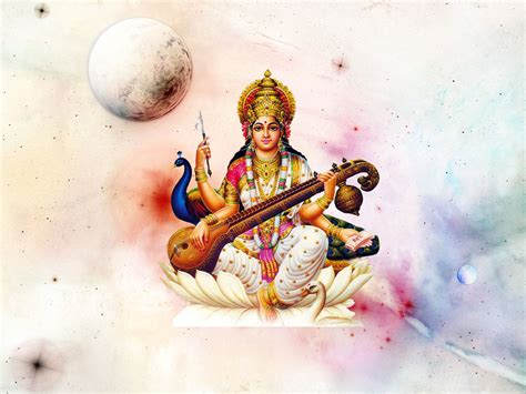 Animated Goddess Saraswati Wallpaper - maa saraswati hindu goddess saraswati hd images god