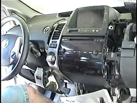 remove radio cd changer control display