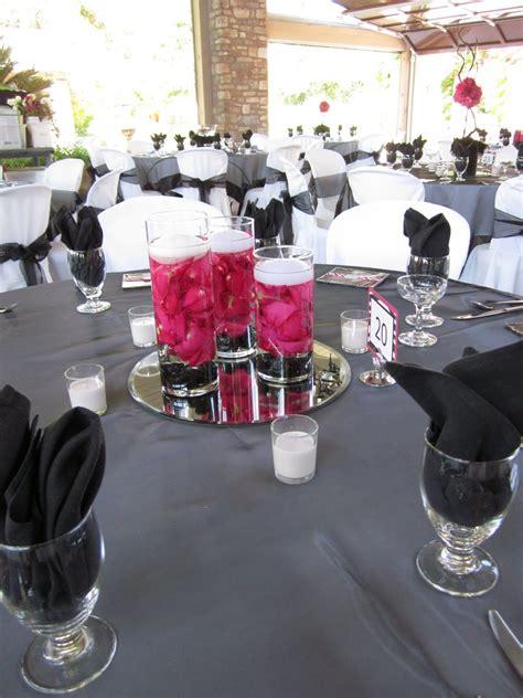 eddilisas blog hot pink  black wedding