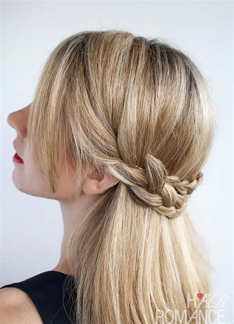 Cool Hairstyles To Do At Home by 41 Diy Cool Easy Hairstyles That Real Can Actually