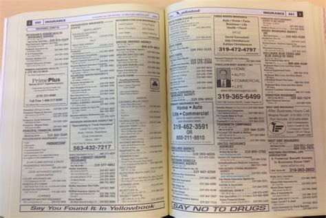 phone book something is missing in the yellow pages one minute