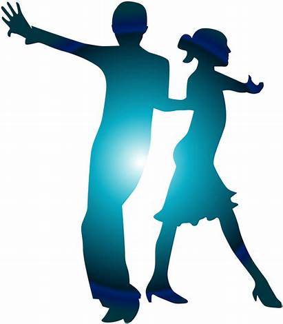 Dance Ballroom Salsa Clip Latin Silhouette Clipart