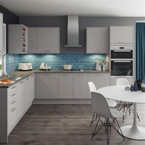 luna matt grey kitchen style range magnet trade