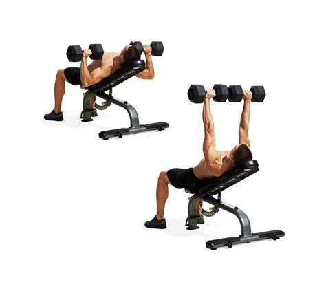 incline bench press incline dumbbell bench press proper form