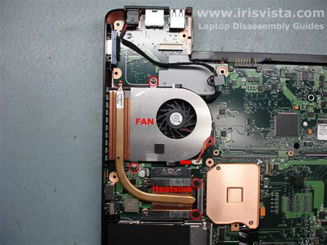 toshiba satellite laptop fan toshiba satellite a105 a100 tecra a7 disassembly guide