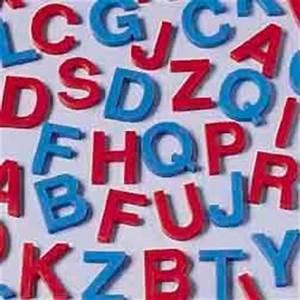 Amazoncom plastic letter set for kids upper case toys for Plastic letters amazon