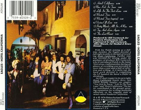 Hotel California  Eagles  Songs, Reviews, Credits Allmusic