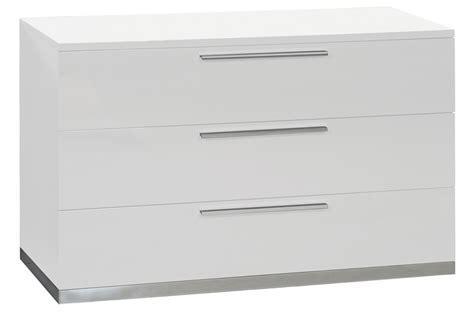 meuble commode laqu 233 blanc design trendymobilier