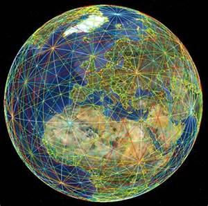 Earth Energy Grid Ley Lines