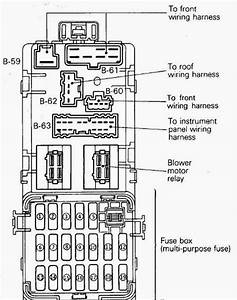 Diagram Kotak Fius Kereta Wira