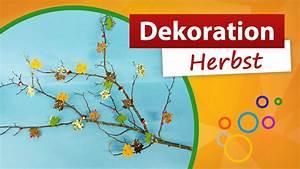 Basteln Mit Zweigen : dekoration herbst aus zweigen selber basteln youtube ~ Watch28wear.com Haus und Dekorationen