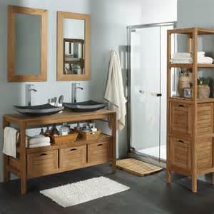 salle de bain teck leroy merlin id 233 es d 233 co salle de bain