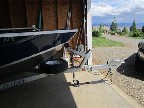 Folding Boat And Trailer by Folding Trailer Tongue Issues The Hull Boating