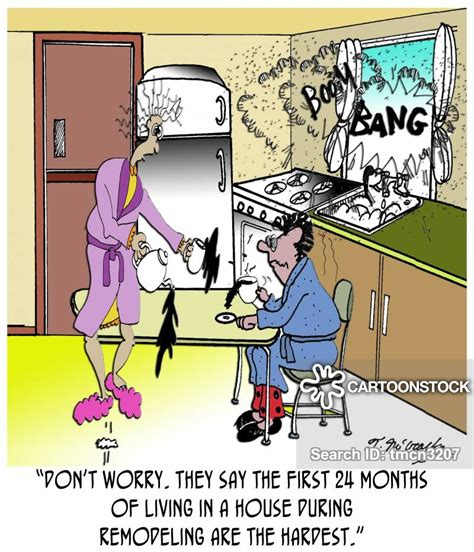 home remodeling cartoons  comics funny pictures