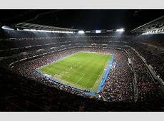 Estadio Santiago Bernabeu de Madrid de fútbol Real Madrid