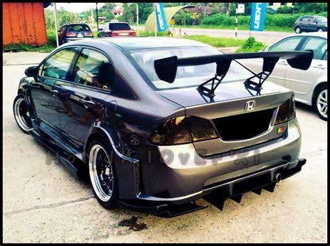 Modified Civic Parts by Modified Cars Modified Black Honda Civic Reborn