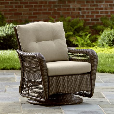 grand harbor may swivel glider outdoor living