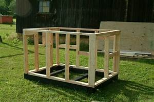How to build a dog house detailed direction for How to build a simple dog house