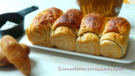 The roux is mixed into the final dough, producing wonderfully tender bread each and every time. WHOLE WHEAT HOKKAIDO / TANGZHONG MILK BREAD/ROLLS - Sumod Tom'z Fusion Cuisines