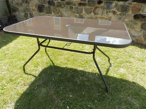 6 seater dining table sets 6 seater brown glass and metal garden dining table outdoor