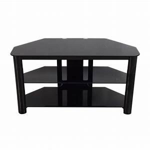 Table Tv But : 61 off best buy best buy black glass tv stand storage ~ Teatrodelosmanantiales.com Idées de Décoration