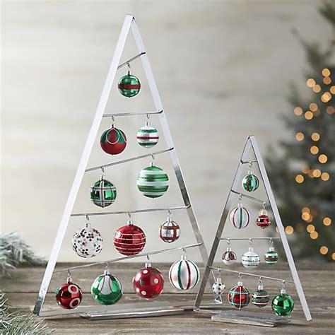 ornament trees crate  barrel christmas pinterest