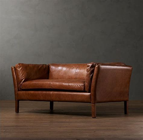 Apartment Sofa Leather by Loading Apartment Leather Sofa Sofa Restoration Hardware