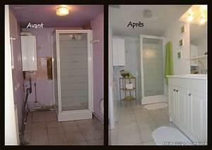 Salle De Bain Avant Après : salle de bains photo de home staging atelier d 39 sign cr ations ~ Preciouscoupons.com Idées de Décoration