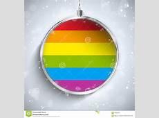 Gay Flag Merry Christmas Ball Stock Photos Image 35205913