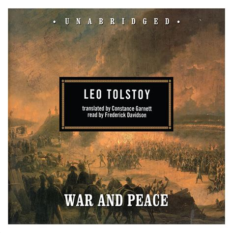 peace war tolstoy leo audiobook audio compact classic books audible nikolayevich author sample audiobooks english written printable bestselling