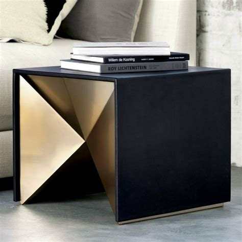 side table modern design black and gold side tables for luxury homes